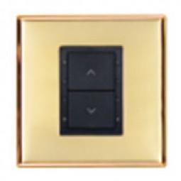 Панель для диммирования светильников 2-кнопки (up/lo) белая