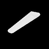 Светодиодный светильник LUX 1235*160*65мм 36W 4000K аварийный